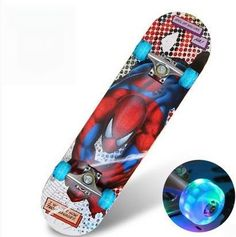 Four wheel skateboard double rocker road skate adult children 4 wheeled skateboard scooter scooter skateboard professional maple
