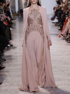 Elie Saab Haute Couture Spring/Summer 2017. Paris Fashion Week.