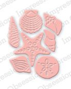 Impression Obsession - Die - Mini Shell Set (set of 7 dies),$5.99