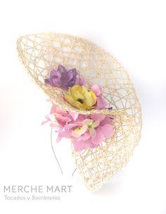 Merche Mart, tocados y sombreros: VALENTINA