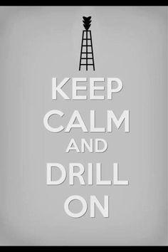 Drill on...
