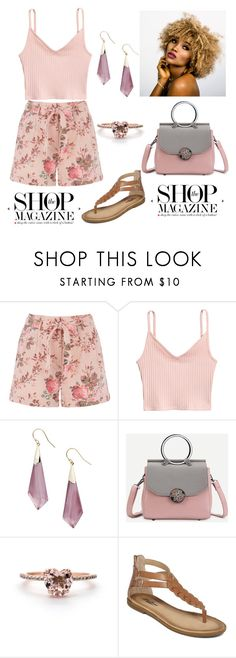 """""""The Shop Magazine"""" by krissybob ❤ liked on Polyvore featuring Alexis Bittar and Lucky Brand"""