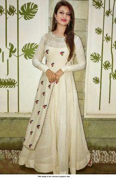 Checkout this hot & latest Kurta Sets Ethnic Designer Kurtis & Kurta Set Fabri Indian Gowns Dresses, Indian Fashion Dresses, Pakistani Dresses, Indian Outfits, Designer Kurtis, Designer Dresses, Mode Bollywood, Bollywood Fashion, Bollywood Style
