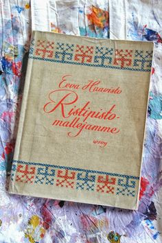 """Our cross stitch patterns"" by Eeva Haavisto, 1950."