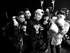 AOMG| ChaCha, Gray, Loco, Ugly Duck, DJ Pumkin and DJ Wegun