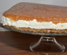 Tort de mere fara coacere No Cook Desserts, Apple Desserts, Romanian Desserts, Icebox Cake, Sweet Tarts, I Foods, Bakery, Deserts, Food And Drink