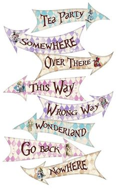 Alice in Wonderland Party Signs Alice in Wonderland Arrows Alice in - Image Editing - Edit image online tool. - Alice in Wonderland Party Signs Alice in Wonderland Arrows Alice in Alicia Wonderland, Alice And Wonderland Quotes, Alice In Wonderland Characters, Alice In Wonderland Pictures, Alice In Wonderland Bedding, Candy Land Party, Alice In Wonderland Tea Party Birthday, Alice Tea Party, Mad Hatter Tea