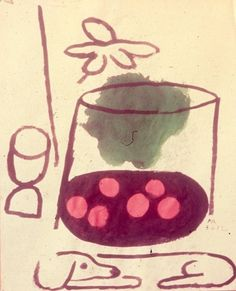 """Dog"", Paul Rand http://www.paul-rand.com/foundation/paintings/#.T221tmEf7mk"