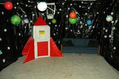 Rocket Astronaut Birthday Party