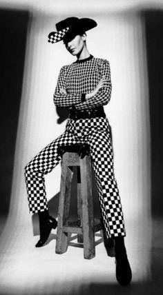 1966. Harper's Bazaar. Model Celia Hammond. Photo by Terence Donovan B1936-D1996)