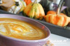 fruchtige Kürbissuppe mit Kokosmilch und Garam Massala @Kochtrotz Allergiefrei Geniessen #suppe #kürbis