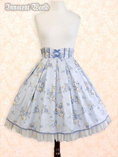 Innocent World Rose Stripe Skirt