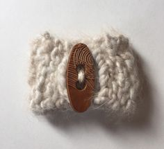 Angora Wrist Cuff/ Bracelet - Sage Bunny by PureAngoraKnits on Etsy https://www.etsy.com/listing/181873712/angora-wrist-cuff-bracelet-sage-bunny