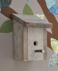 vogelhuisje steigerhout - Google Search