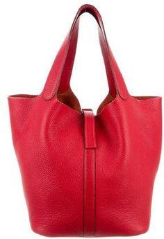 bd36a2d2dd0c Rouge Garance Clemence leather Hermès Picotin GM with palladium hardware.   ad Coat Dress