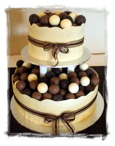 Image Detail for - Wedding Cakes :: Lindt Truffle Cake picture by SandyVenter ...