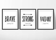 Scripture Prints, Downloadable Art, Set of 3 Printables, Digital JPG and PDF Files. Set of 3 8x10 Each Thank you for visiting Princess Snap! ♥ IMPORTANT ♥ This is for the digital file only. After your payment has cleared I will email you 8x10 digital files (does not include the frame