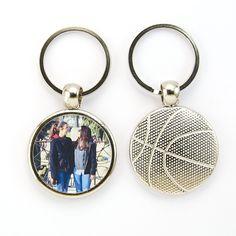 #llavero #baloncesto con #foto #personalizado en #customoon