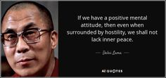 """Discover Dalai Lama famous and rare quotes. Share inspirational quotes by Dalai Lama and quotations about compassion and suffering. """"If you think you are too small to. Dalai Lama, Positive Mental Attitude, Positive Thoughts, Positive Quotes, Just Dream, Love Live, Inevitable, Helping Others, That Way"""