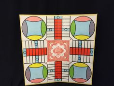 Vintage Parcheesi Game Board Gold Seal Edition 1964 USA Board Only or Display  #SelchowRighter