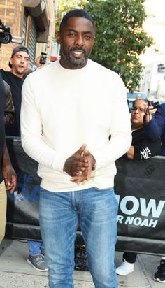 Idris Elba at The Daily Show with