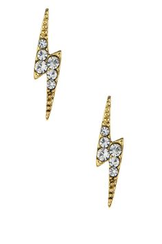 Ariella Collection | Ariella Collection Lightning Bolt Earrings | Nordstrom Rack
