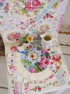 Colorful Little china chair! by vintagedragonfly, via Flickr
