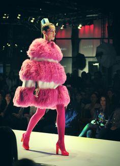 Agatha Ruiz de la Prada f/w 2012/13 Fashion Show - http://thehearabouts.blogspot.com/2012/04/agatha-ruiz-de-la-prada-fw-201213.html