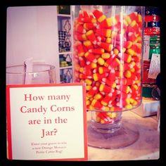 DIY Halloween - Candy Corn Contest