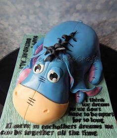 Eeyore! All cake :)