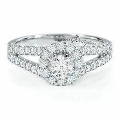 Helzberg Diamonds - Diamond Masterpiece 1 1/5ct TW Engagement Ring in 18K Gold