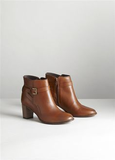 sports shoes 45fe1 9a796 BOOTS WOMAN WITH HEEL, TANKS BROWN + BLACK  black  boots  brown  tanks   woman
