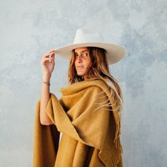 This product is available by PRE_ORDER only. Stock arriving mid July. Pampa Ponchos are made by artisans who live on the salt flats and elevated plains of northern Argentina in a place known as the Puna. To bring you our Pampa Ponchos, we've teamed up with Argentinean textile brand La Hilandería and the NGO Warmi project....  Read more »