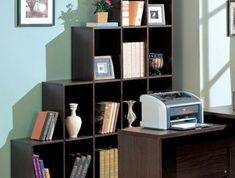 étagère-cube-en-bois-office-de-travail Cubes, Etagere Cube, Bookcase, Shelves, Home Decor, Contemporary Style, Furniture, Home Ideas, Bedroom