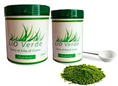 Succo di erba di grano in polvere liofilizzato certificato Bio ricco di principi attivi glutine free http://www.lioverde.com/