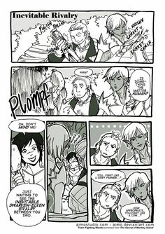 ;-) I was also surprised Fenris and Varric got along so well. Then again, everyone loves Varric :)