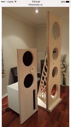 Open Baffle Speakers, At Home Movie Theater, Home Speakers, Speaker Design, High End Audio, Loudspeaker, Audiophile, Turntable, Simple Designs