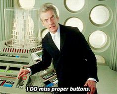 Peter Capaldi 1980's Console Room