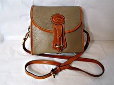 Dooney & Bourke  Pebble Leather Equestrian Cross by PiccadillyHill, $54.00