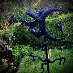 "BiPe Mockingbird Lane 🖤💚 on Instagram: ""🦇🦇⚰️🕸🕷💚🖤☠️ not sponsored #gothicgarden #gothiclife #darkgothic #gothicvictorian #gothicvampire #gothichouse #gothicgardening #gothiclifestyle…"""