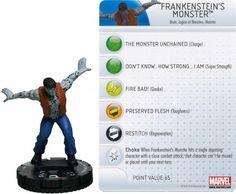 Frankenstein's Monster #010 Amazing Spider-Man Marvel Heroclix - Marvel: Amazing Spider-Man - Heroclix