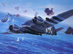 RAF Bristol Beaufighter Bomber