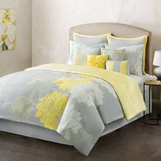 Home Classics Counterpoint 10-pc. Reversible Comforter Set @ Kohl's