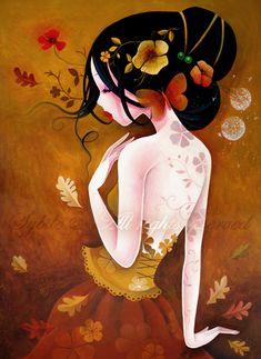 Sybile Art, acrylic and oil paintings