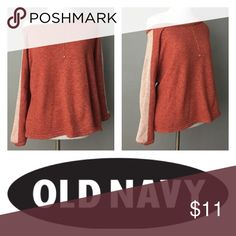 """""""The Flirt"""" Pullover by Old Navy Medium Women This is such a flirty top. The name definitely describes it perfectly. Wear off the shoulder or on. The fit is amazing. Size is a medium. Old Navy Tops"""
