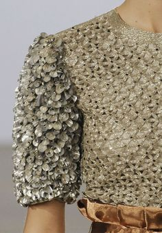 Triangle tessellation & micro cone textures - decorative surfaces; dress closeup; fashion details