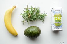 DDG DIY: Kale, coconut water, avocado & banana face masque