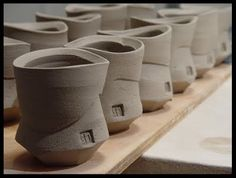 musing about mud: Monday morning eye candy - Shadow May of Shadow Pottery Love this shape!