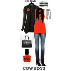 Oklahoma State Cowboys : ) Football season is almost here !!!