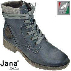 Jana Soft Line női bokacipő 8-25262-21 846 jeans
